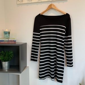 Dresses & Skirts - Adorable striped dress with elbow pads!